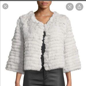 Neiman Marcus fur topper jacket